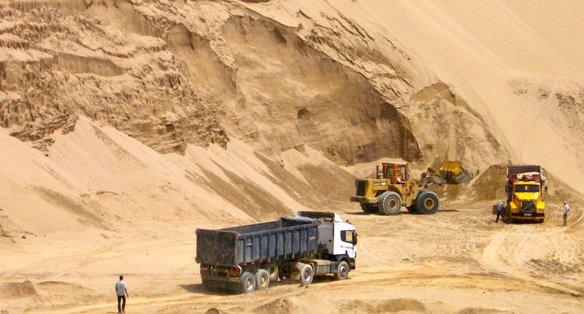sand construction